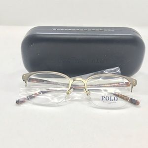 Polo 1163 Brushed Matte Bronze Eyeglasses